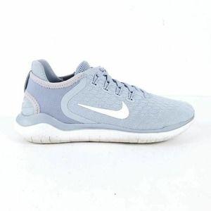 Nike Womens Free Rn 2018 Running Shoes Gray